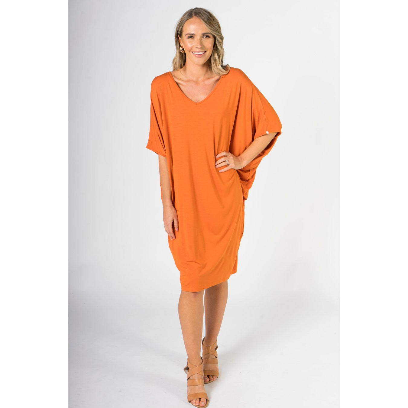 PQ COLLECTION Miracle Dress in Sunset