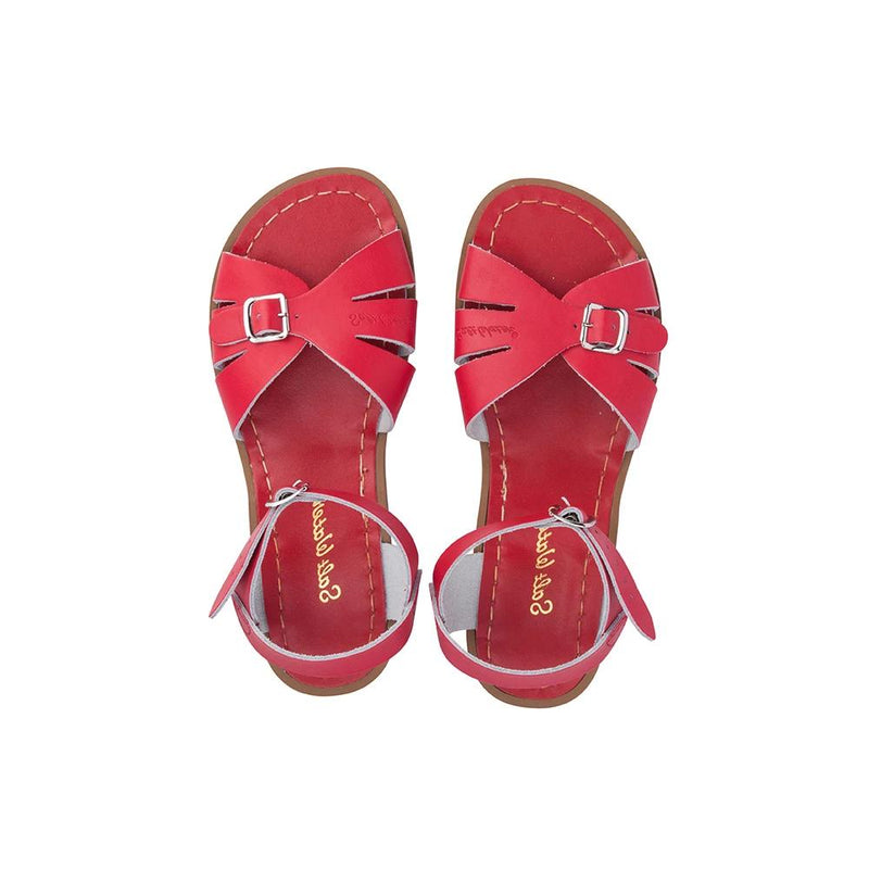 Salt Water Classic Sandals in Red