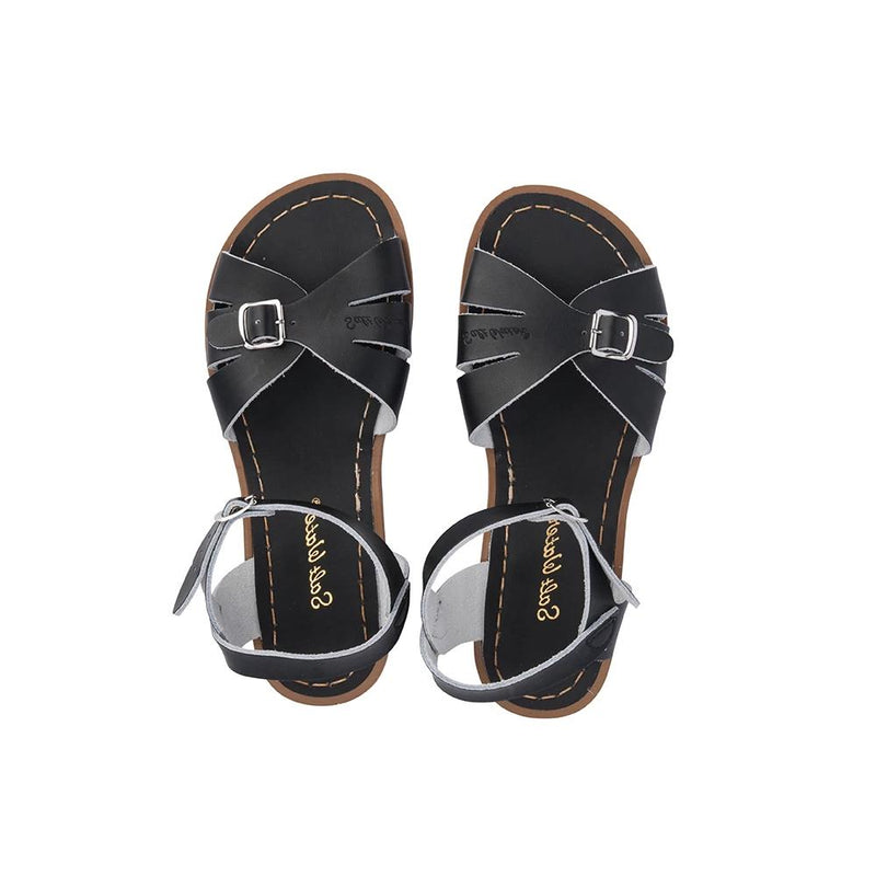 Salt Water Classic Sandals in Black
