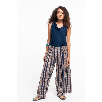 Soulsong Amana Pants in Natural Tribal print.