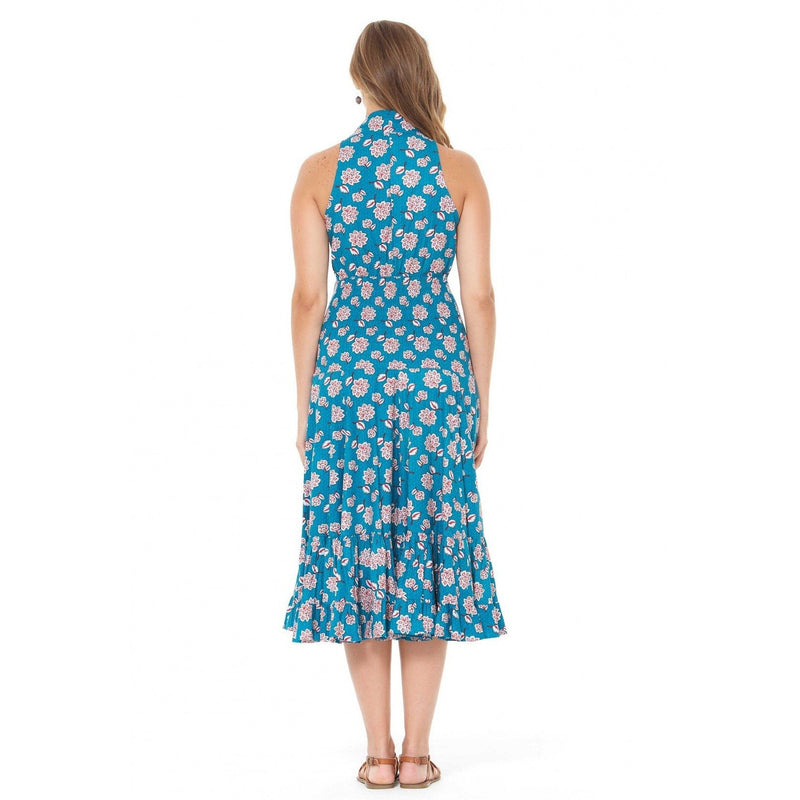 Rasaleela Polly Dress Mid Length in Yoko Print