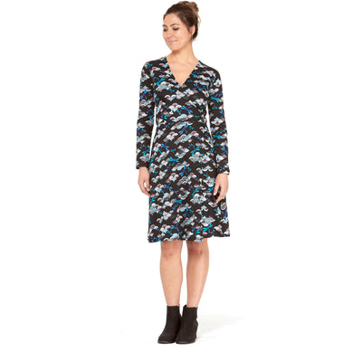 Rasaleela Sunburst Wrap Dress