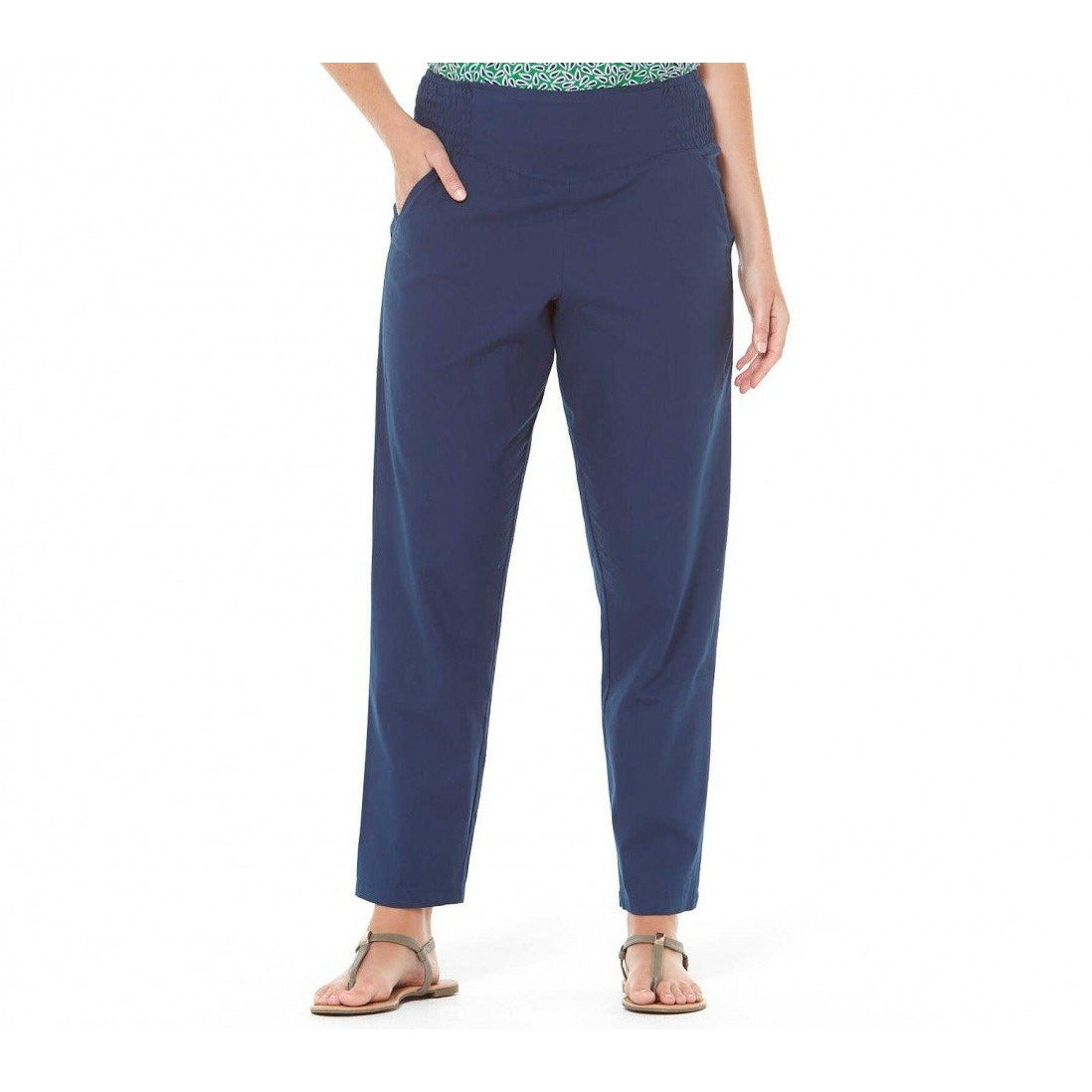 Rasaleela Deepika cotton pants in Navy