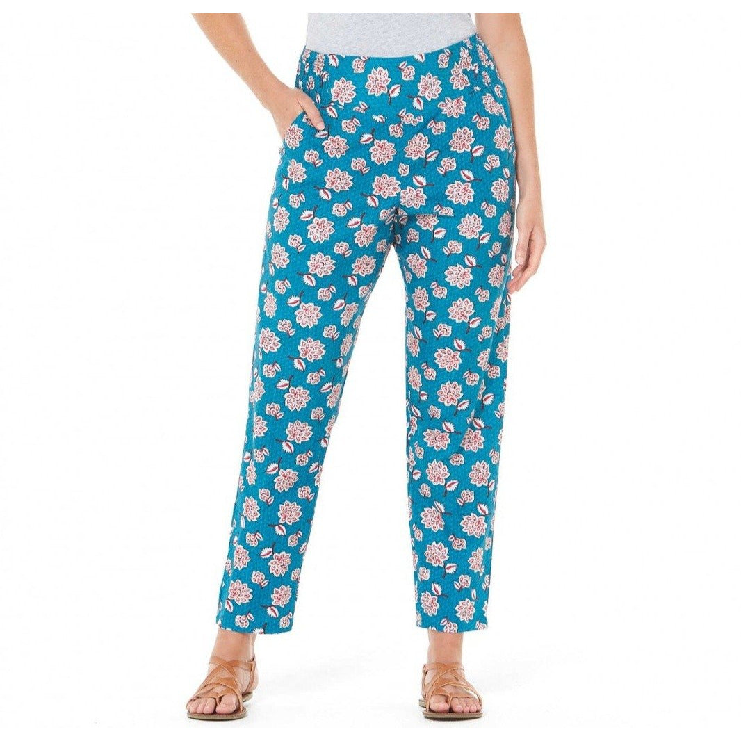 Rasaleela Deepika cotton pants in Yoko Print