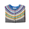 Eribe Knitwear Alpine Short Cardigan in Solstice