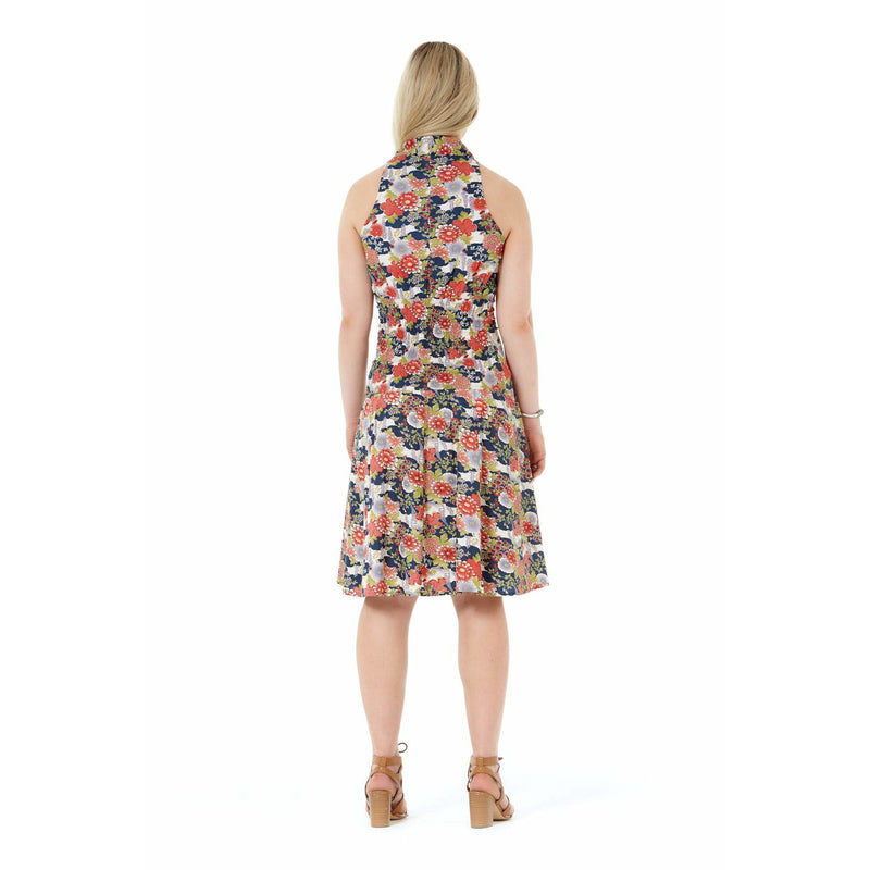 Rasaleela Vera Cotton Dress with back shirring