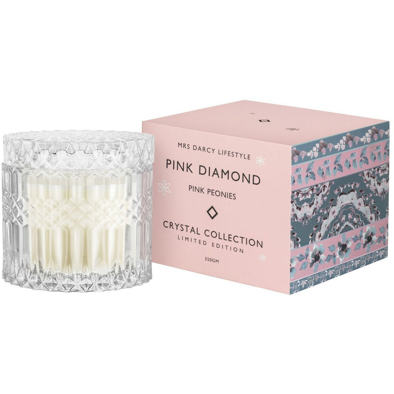 Mrs Darcy Pink Diamond Candle