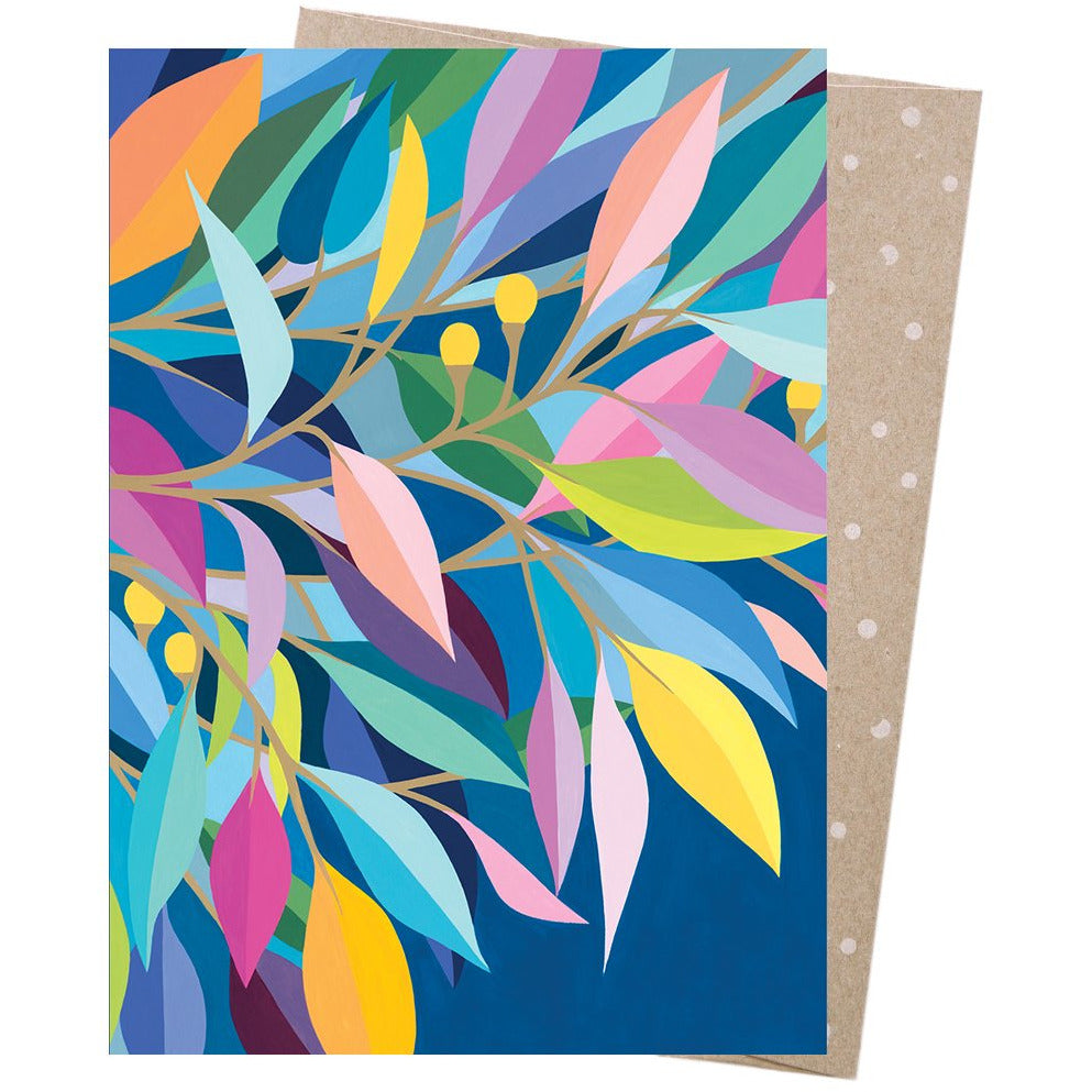 Earth Greetings Card Rainbow Gum