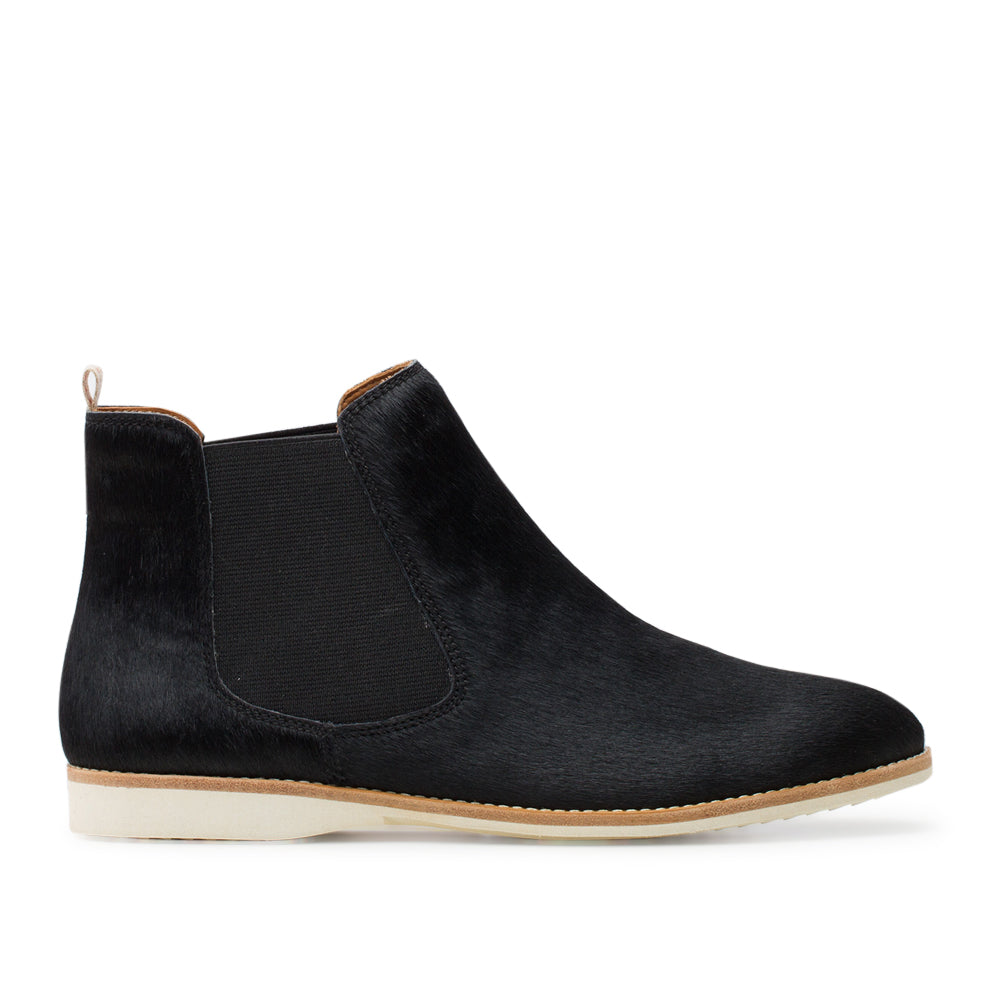 Rollie Chelsea Black Pony Boot