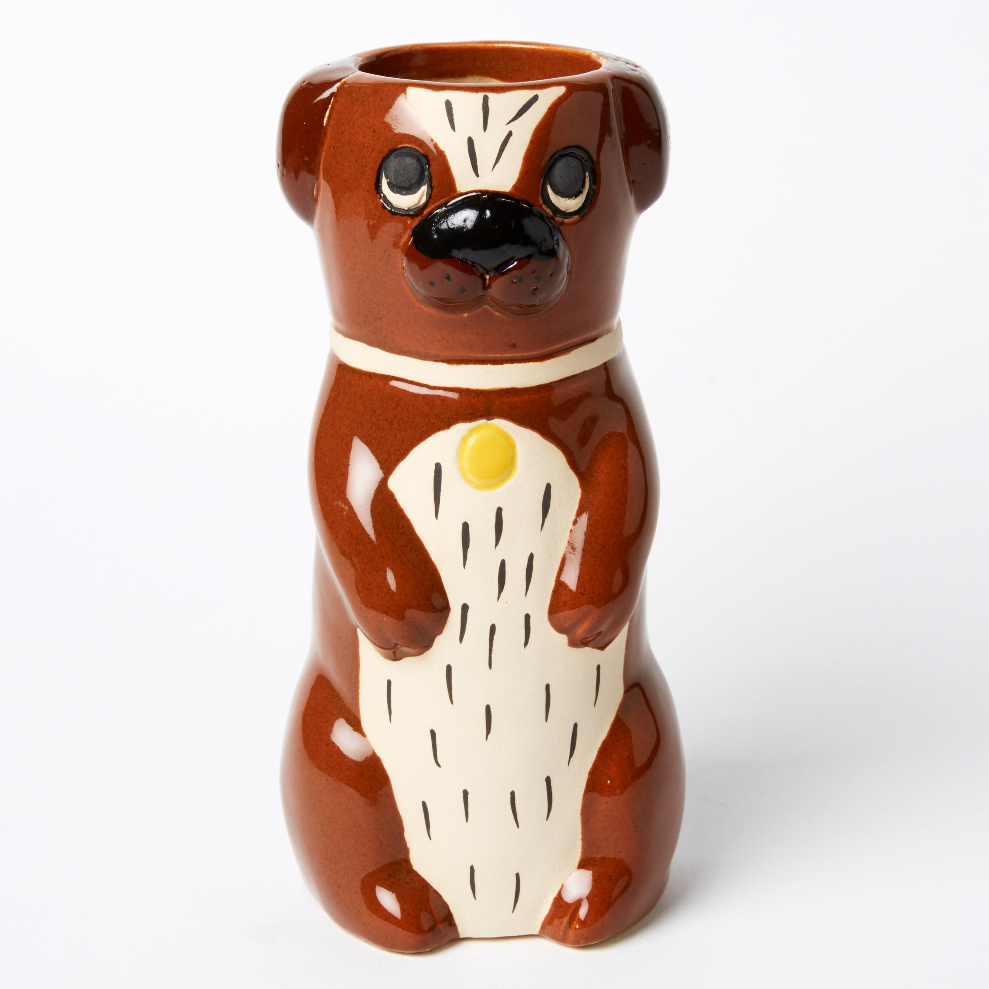 Jones & Co Paule Dog Vase