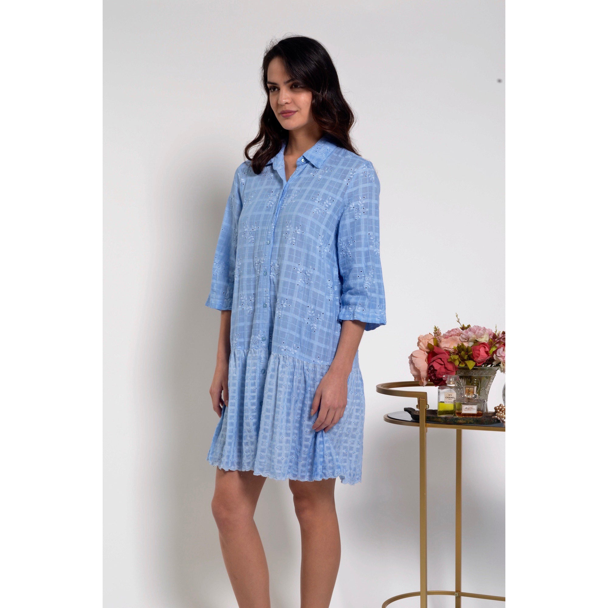 Lula Soul Syros Tunic Cloud Blue