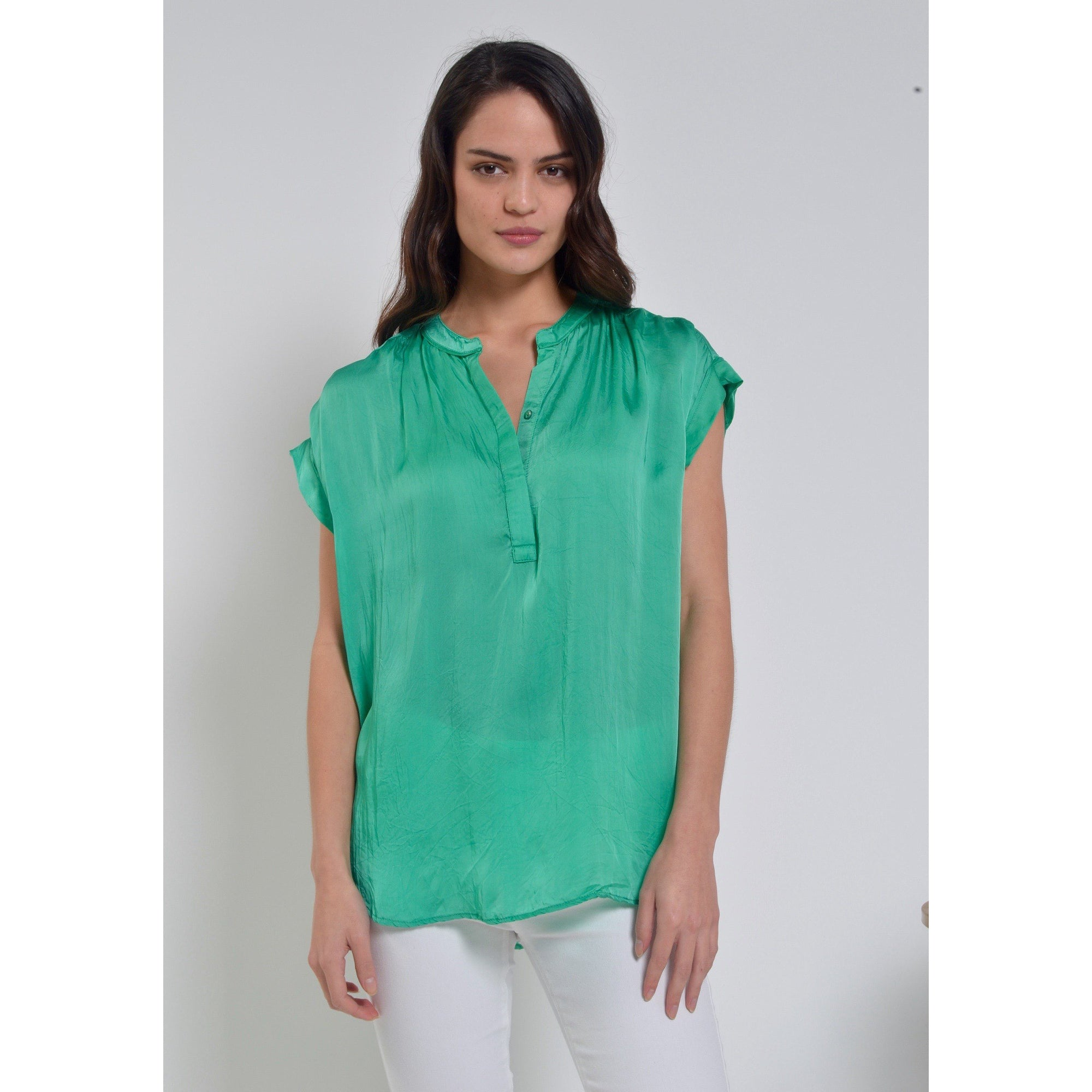 Lula Soul Luna Top in Sea