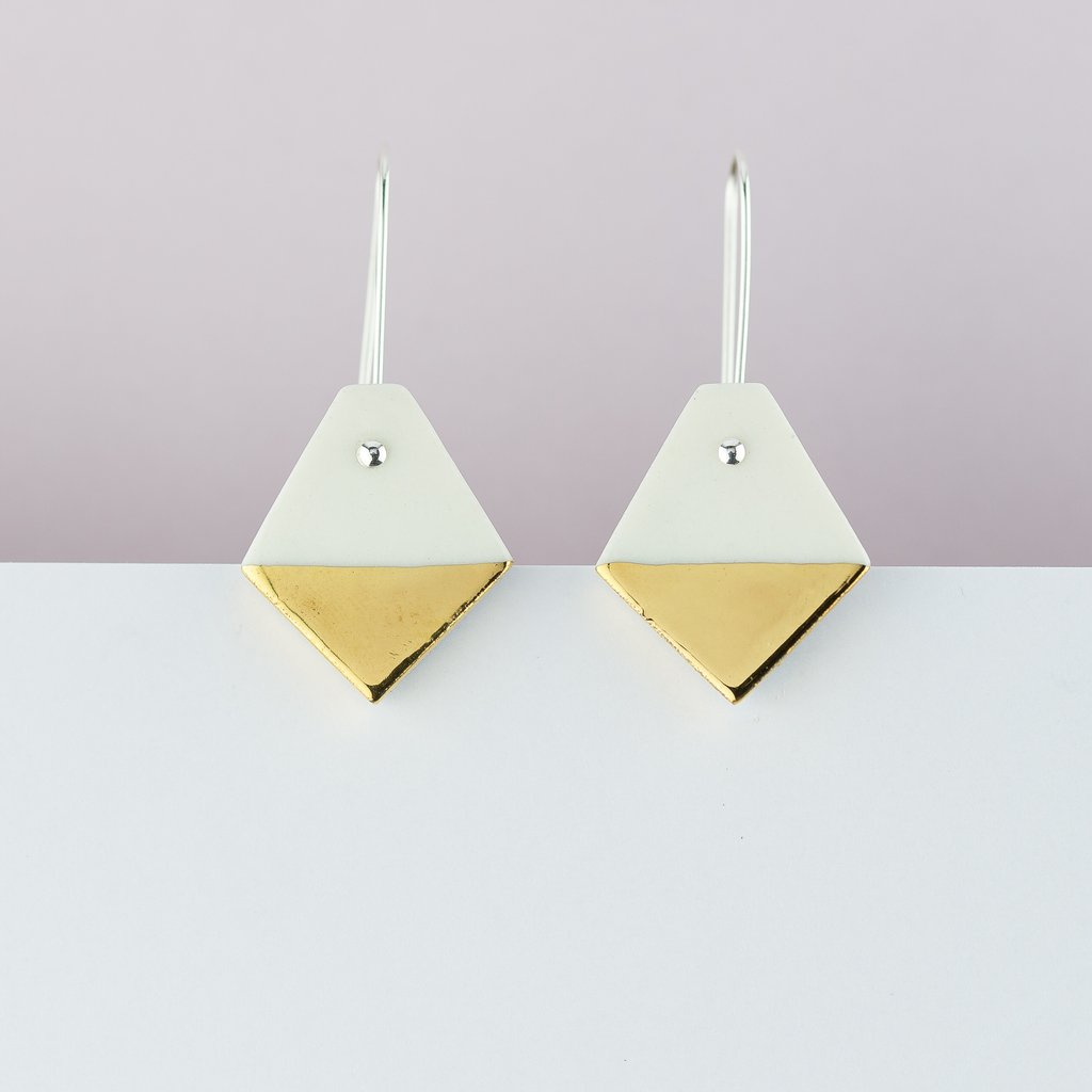 Erin Lightfoot Diamond Earrings in White