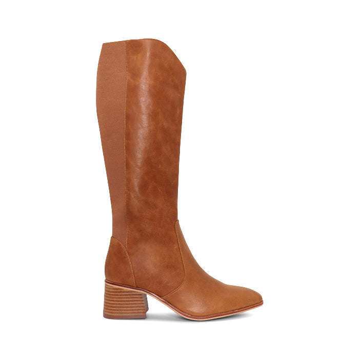Nude Footwear Esme Boot in Tan