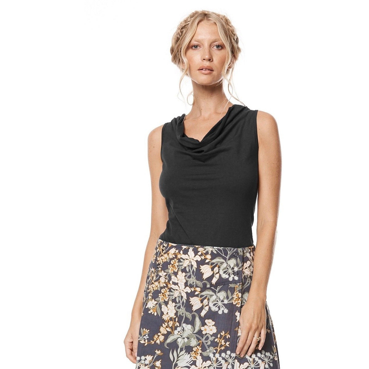 MahaShe Rosa Top in Black
