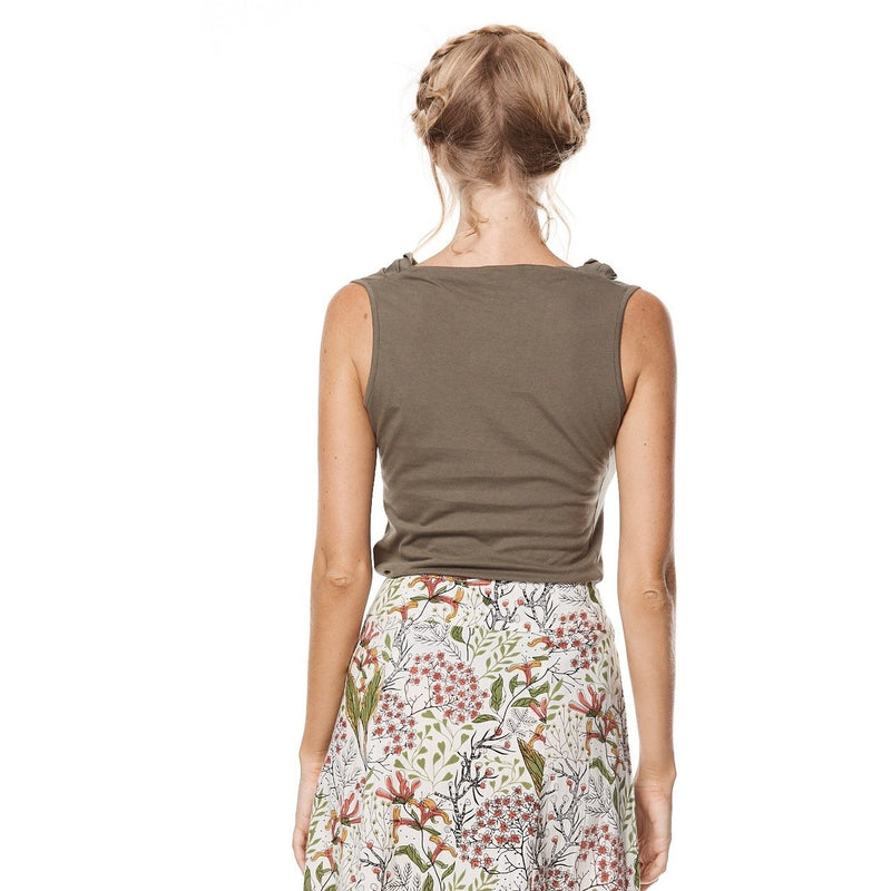MahaShe Rosa Top in Sage
