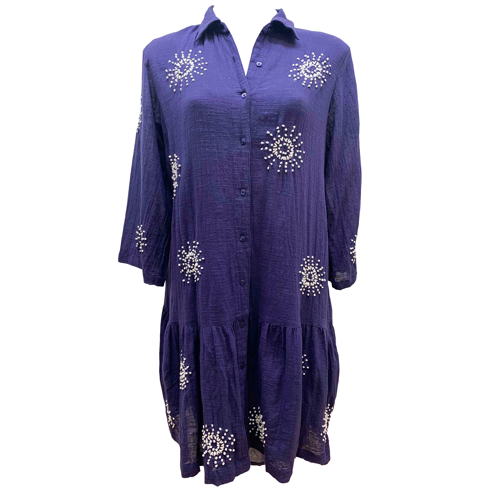 Lula Soul Symi Tunic in Navy