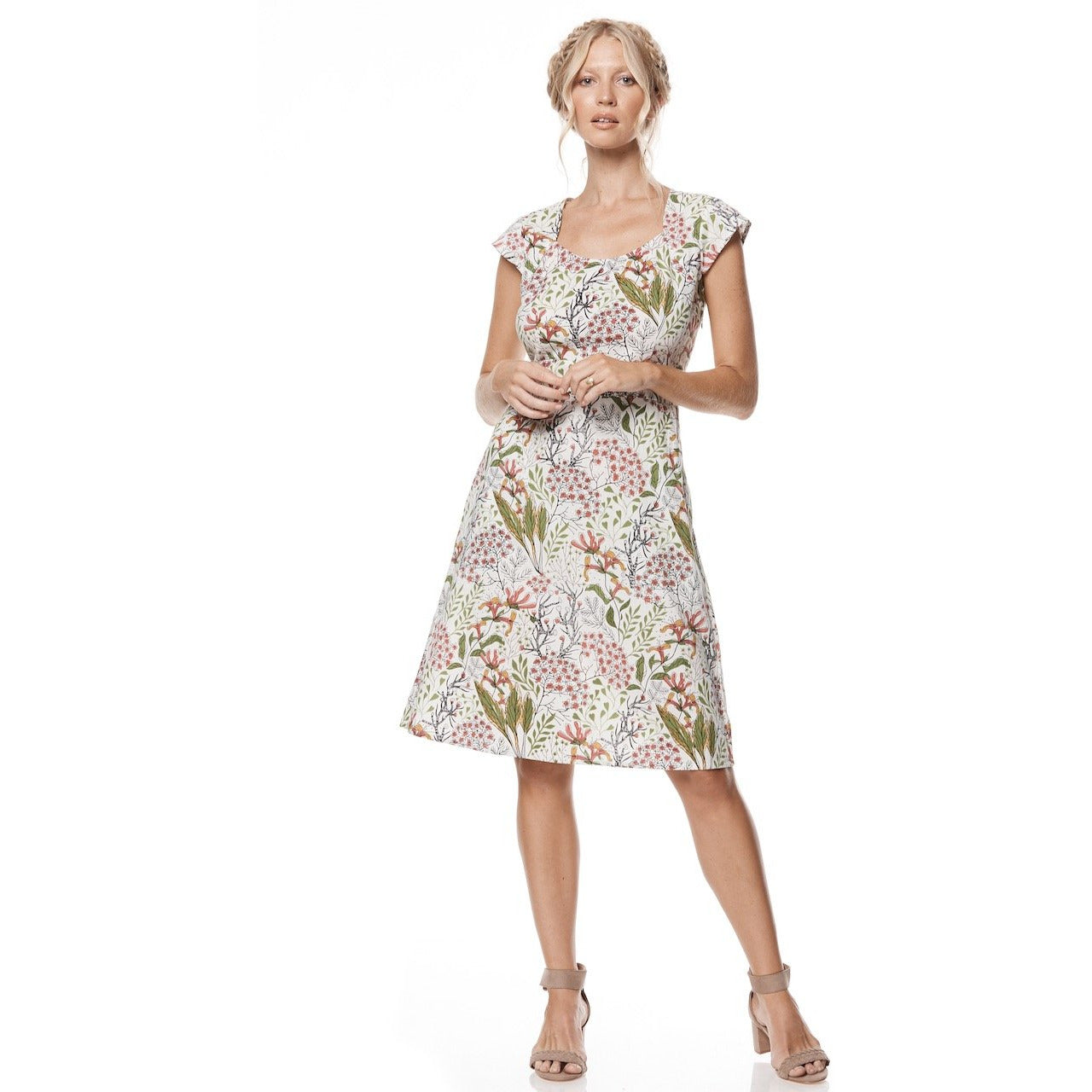 MahaShe Elsy Dress Freesia Print