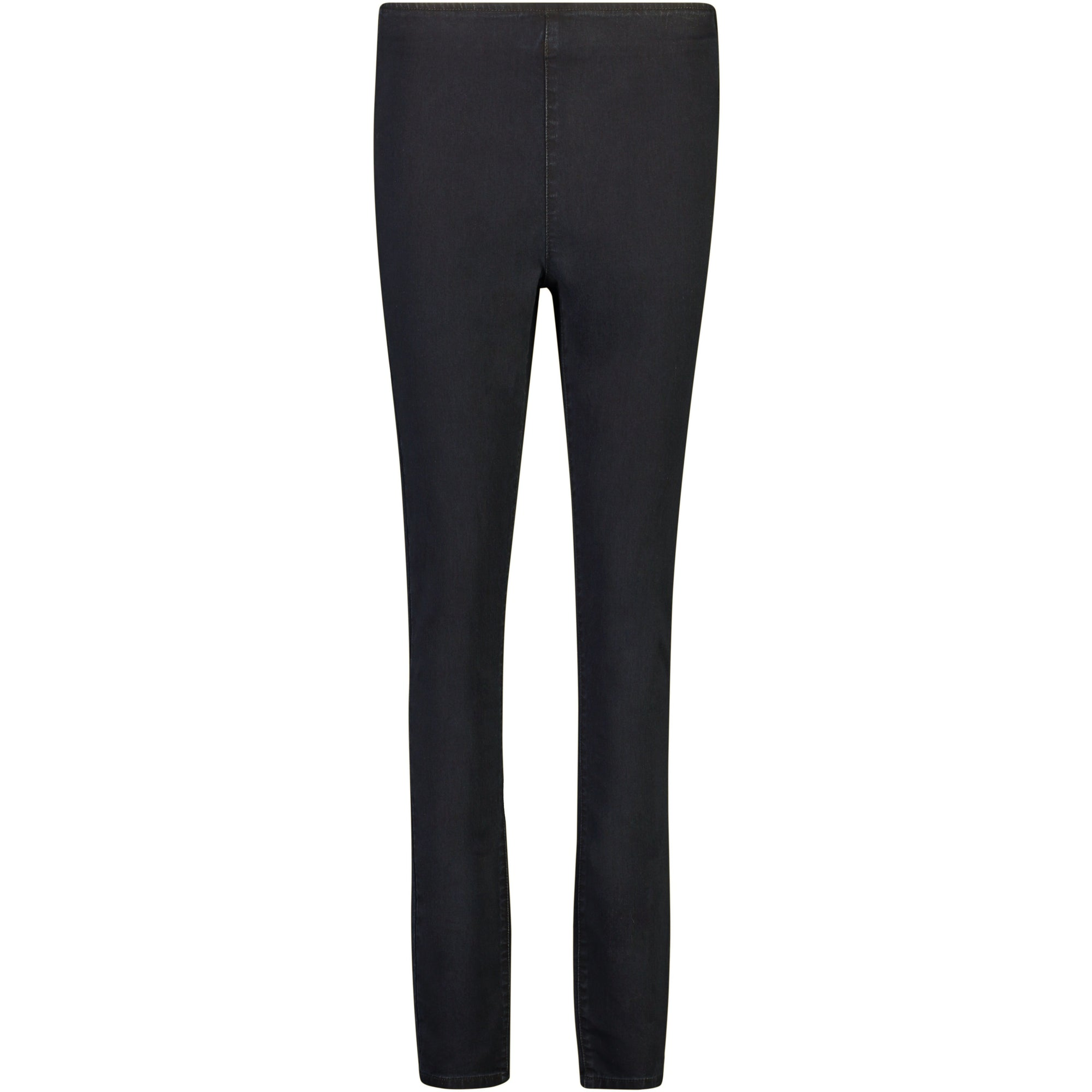Foil That's Thin-Credible Jeggings in Black Wash