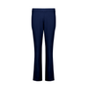 Foil Signature Full length long slim trapeze pant in True Navy