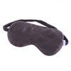 LOVESILK Silk Eye Mask in Charcoal Grey