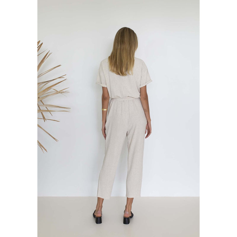 Humidity Aida Jumpsuit in Natural