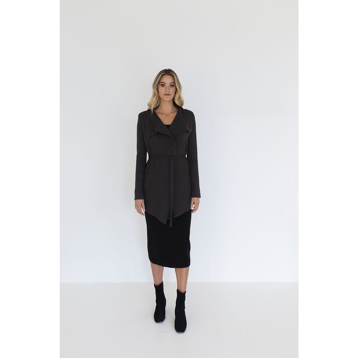 Humidity Alexis Knit Jacket in Black
