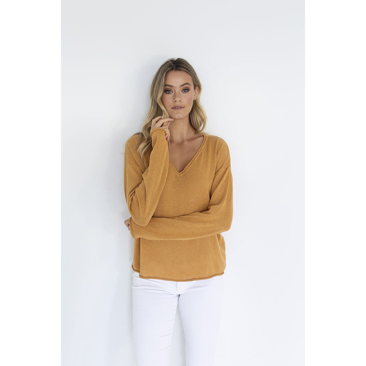 Humidity Haven Top in Camel
