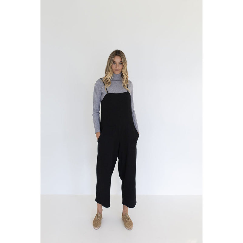 Humidity Soul Jumpsuit in Black