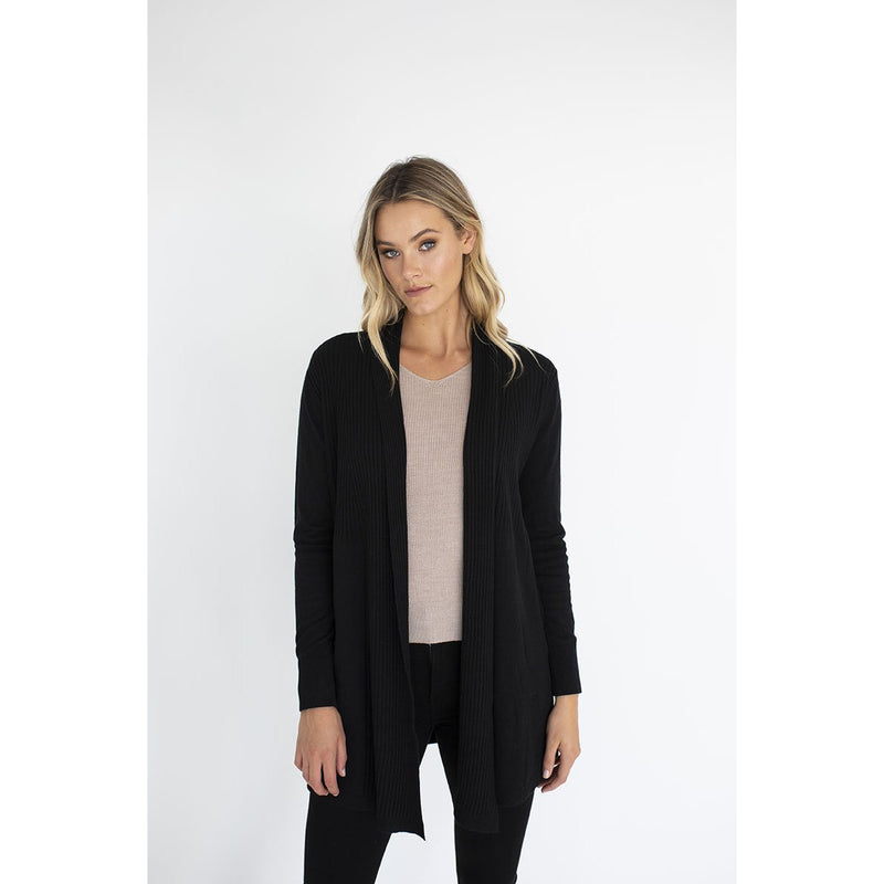 Humidity Adore Cardigan in Black