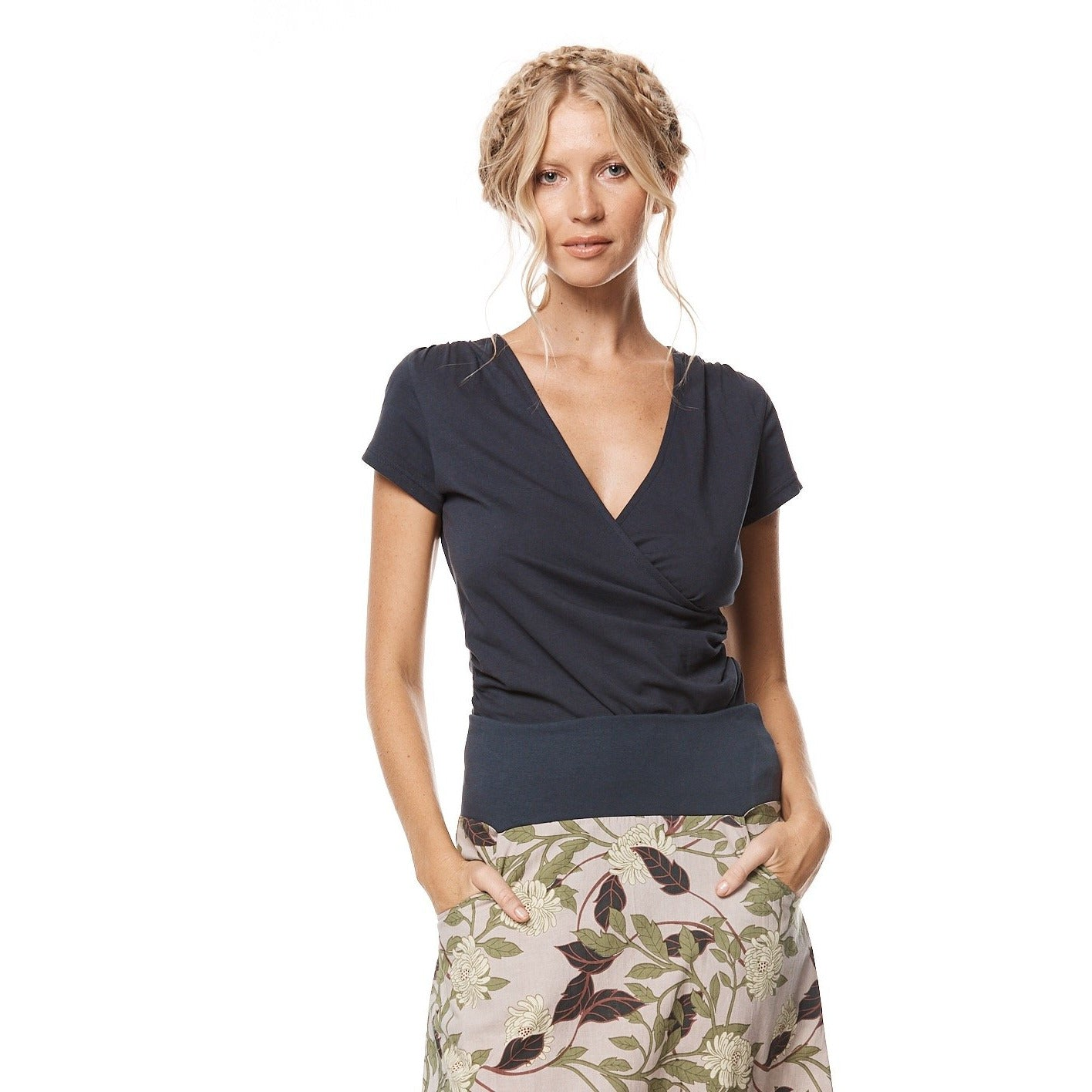 MahaShe Hayley Top in Storm Plain