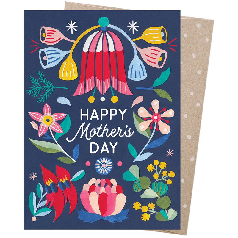 Earth Greetings Card Mothers Bloom