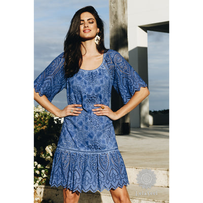 Lula Soul Mystic Dress in Indigo