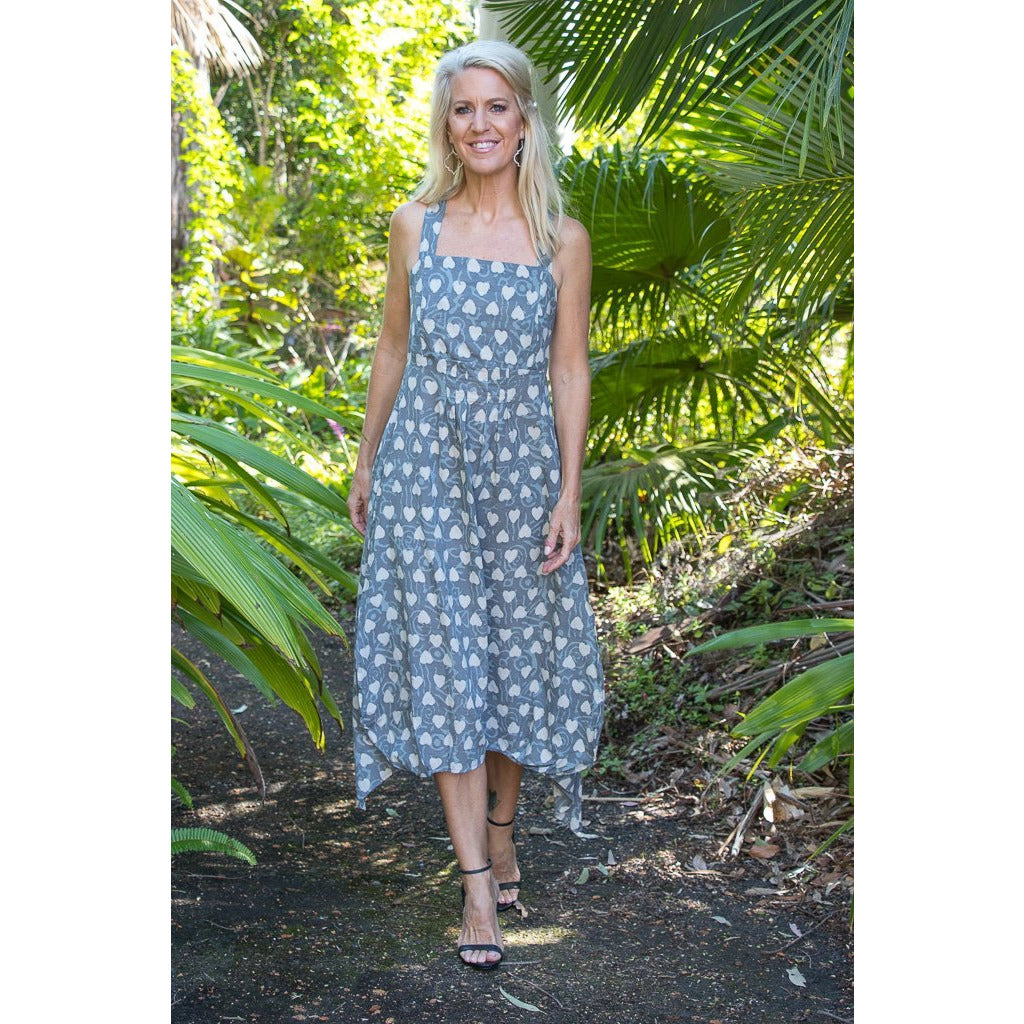 Soulsong Rosa Dress in Kassis Hearts