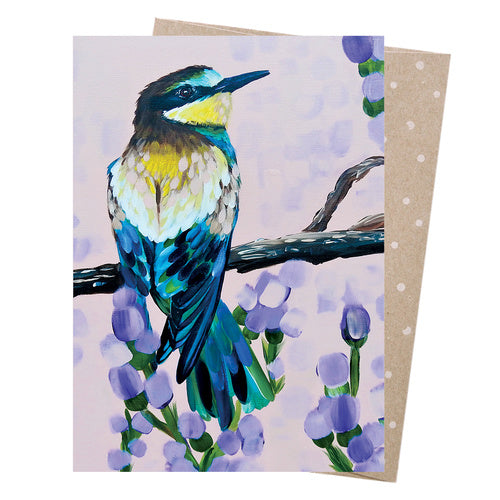 Earth Greetings Card Rainbow Bee-Eater