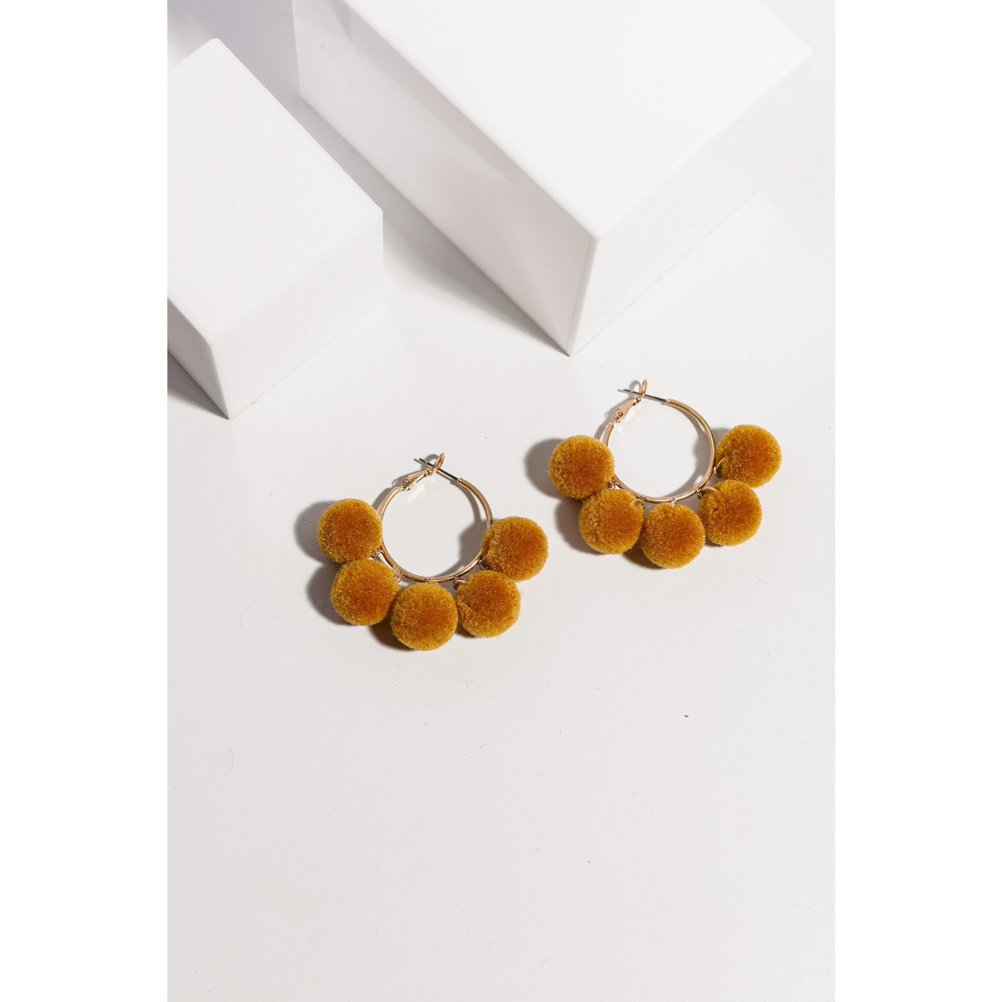 Holiday Alexa Earrings in Mustard