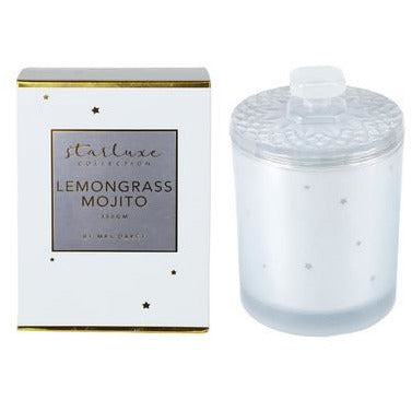 StarLuxe Lemongrass Mojito Candle