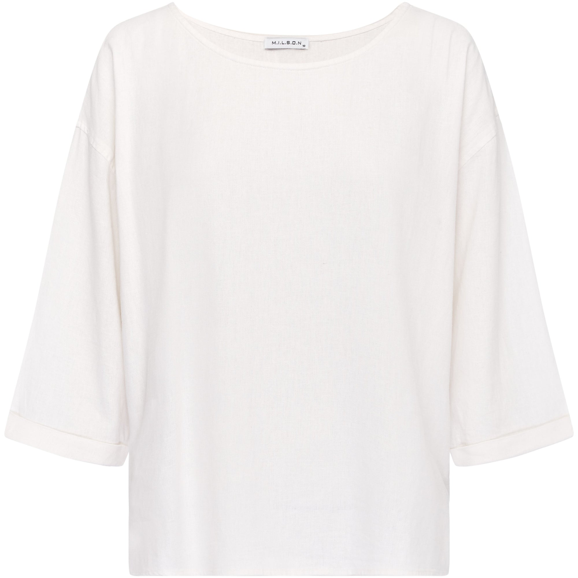 M.I.L.S.O.N Layla Linen Top in White