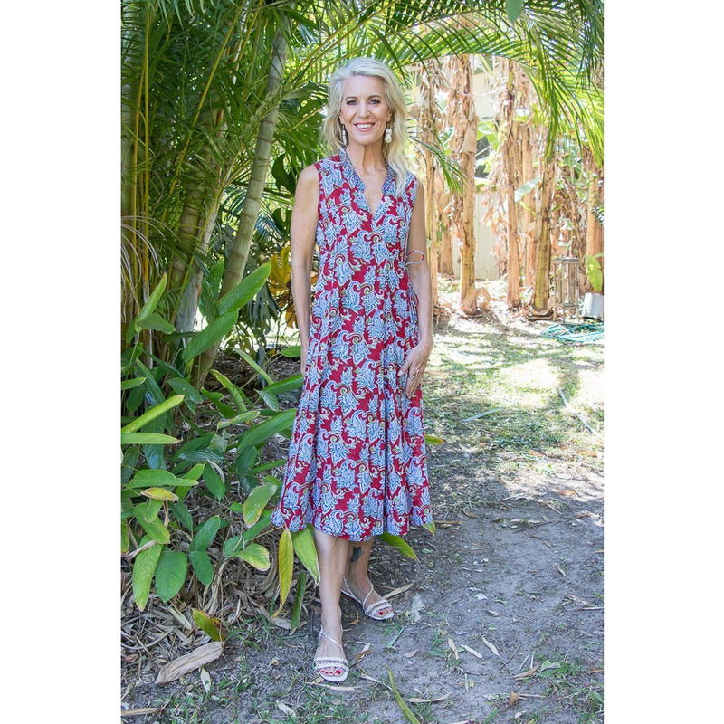 Soulsong Mandalay Dress in Spring Zest