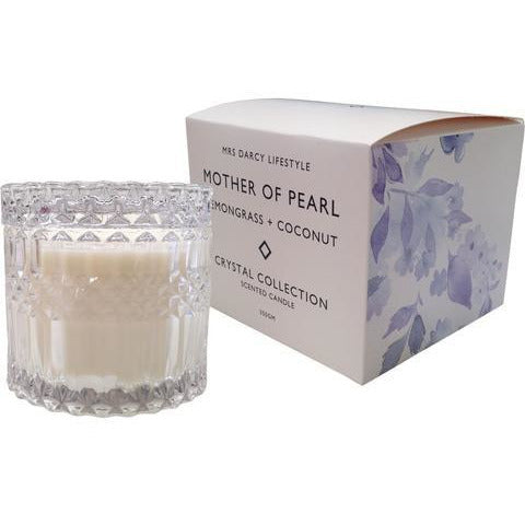 Mrs Darcy Mother Of Pearl Candle