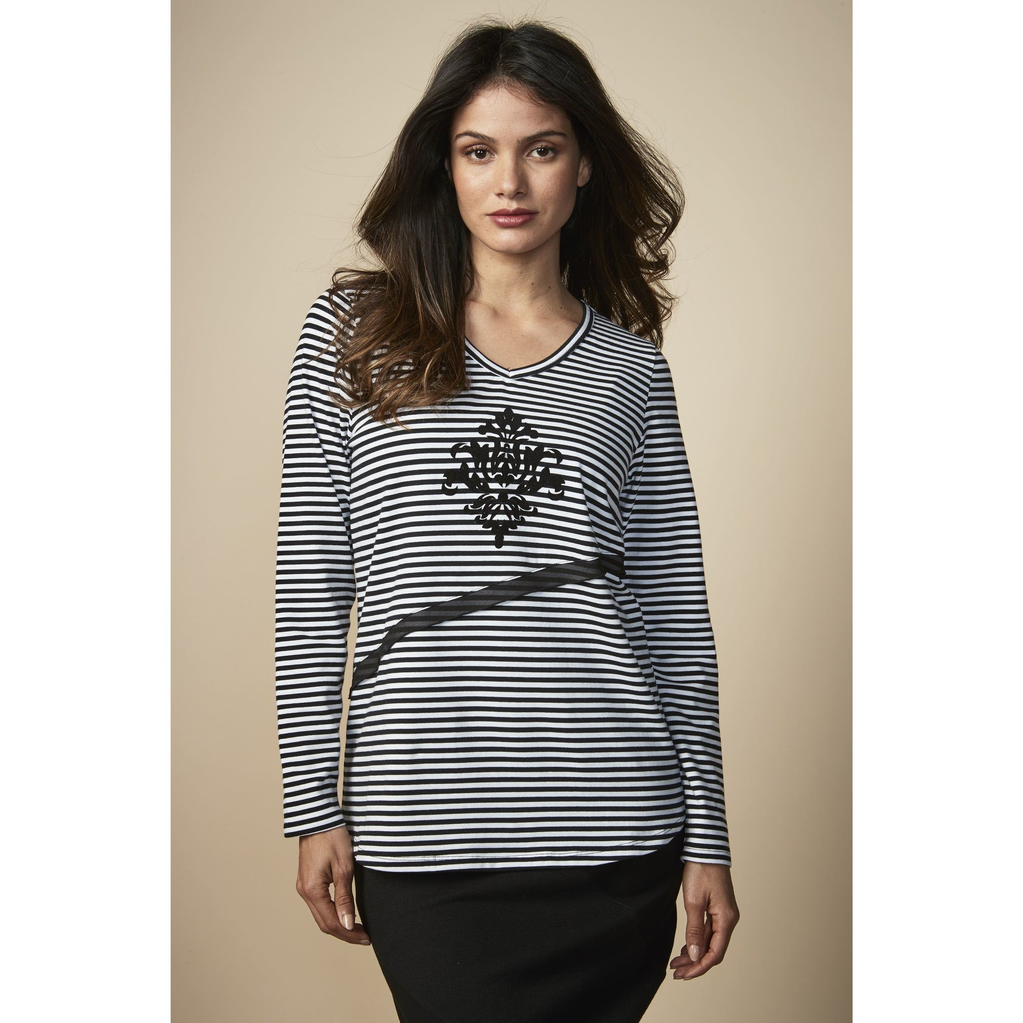 Newport Collection Bella Top in Stripe