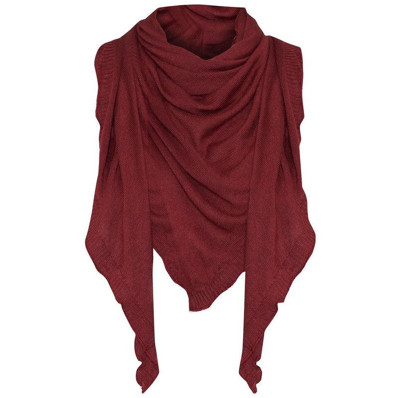 Lou Lou Australia Bamboo The Sassoon Scarf in Wine