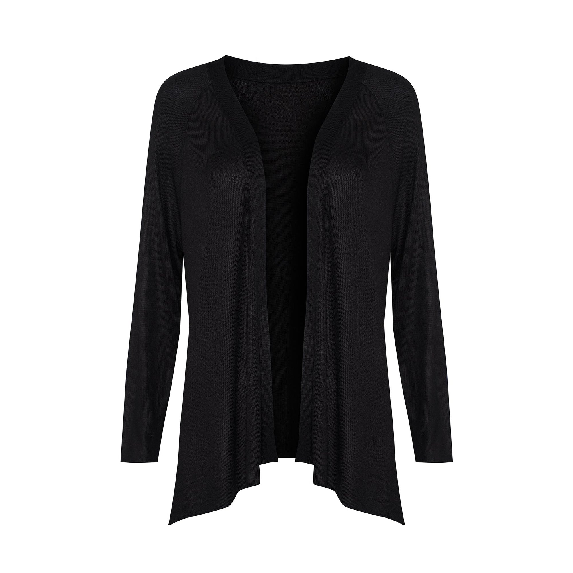 Lou Lou Australia Bamboo Patsy Cashmere Jacket in Black