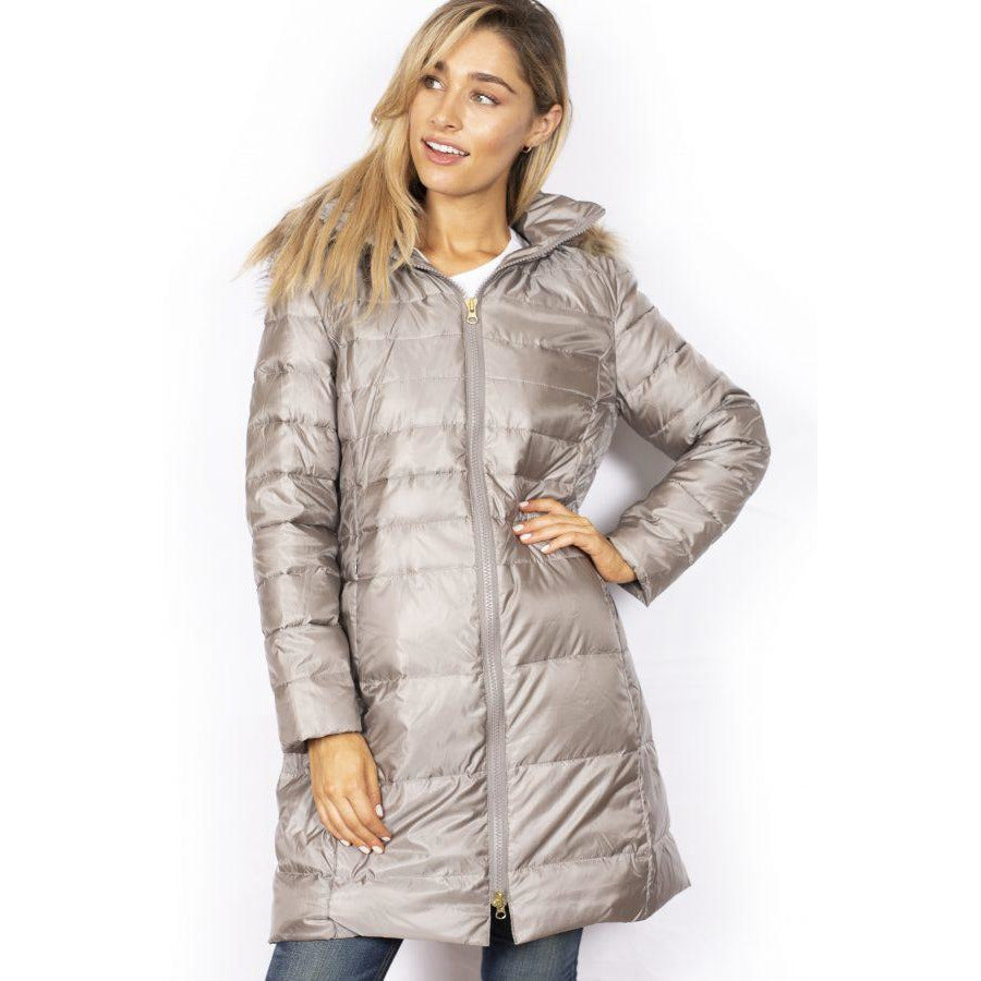 Sabena Long Line Down Jacket