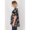 PQ COLLECTION Peak Top in Night Sky Print