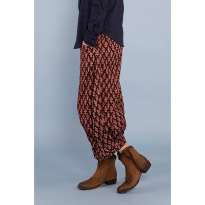 Boom Shankar Guru Pants in Cactus Flower Port print