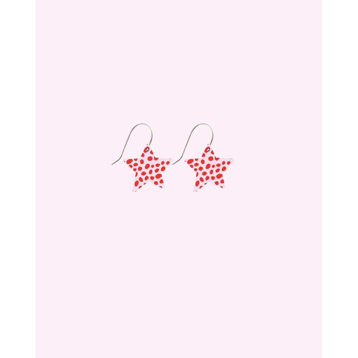 Moe Moe Design Special Edition Speckles Small Star Drop Earrings