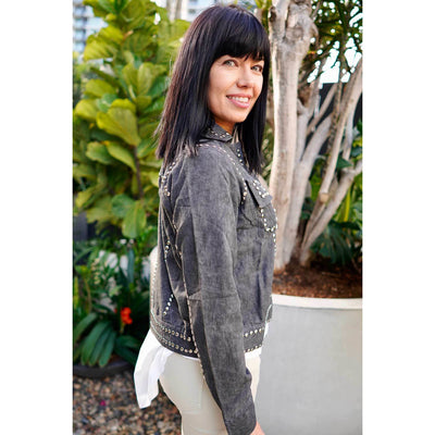 Rubyyaya Dolorosa Jacket in Charcoal