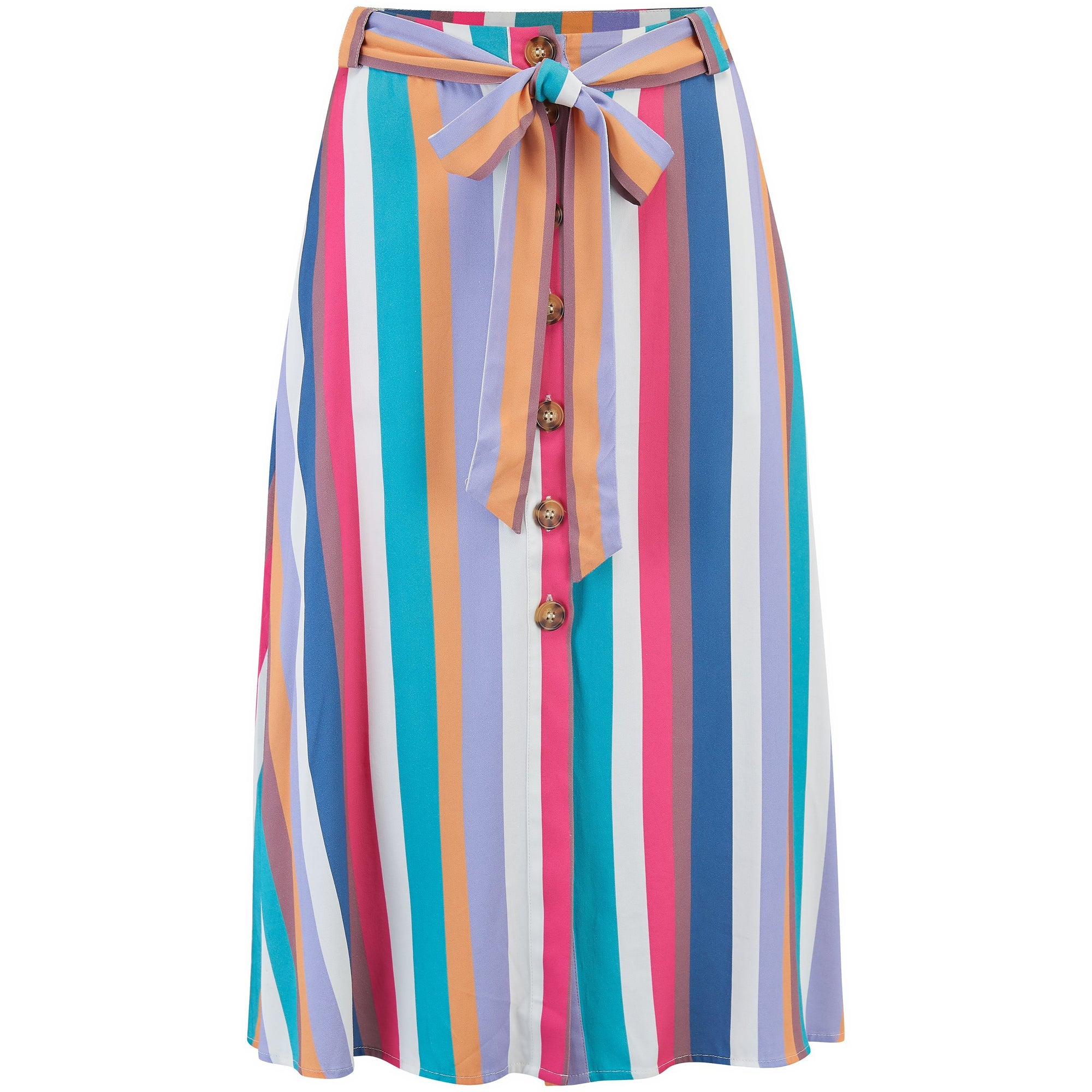 Sugarhill Brighton Rosanna Cruise Stripe Skirt