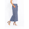 Sequel by Cafe Latte split front pant in Denim Plain